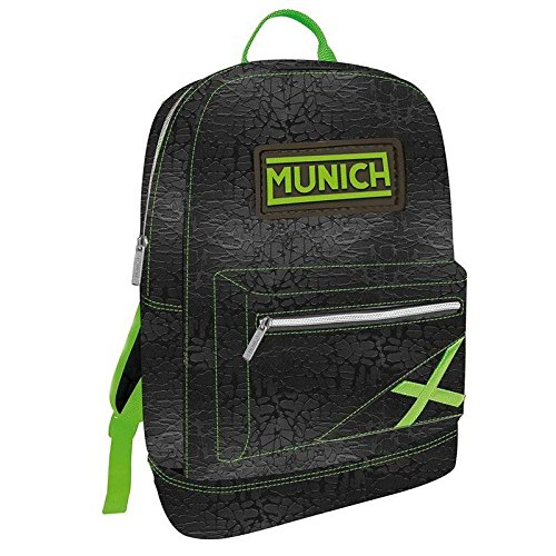 Zaino Munich Uomo Donna Backpack Men Women fashion nero acid