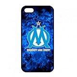 Olympique de Marseille iPhone 5/5S Coque,iPhone 5/5S Olympique de Marseille Hard...