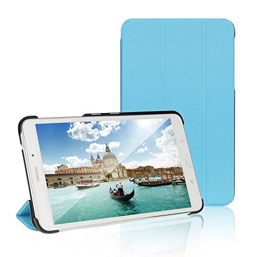 JETech Hülle für Samsung Galaxy Tab 4 7,0, Schutzhülle mit Ständer Funktion und Auto Schlaf/Wachen, Blau