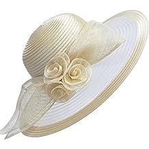 Sombrero de ala ancha de Lawliet para mujer d4697719b28