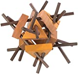 Playtastic Geschicklichkeitsspiele: Geduldspiel aus Holz - Der verflixte Eiskristall (Spielzeuge für Geduld)