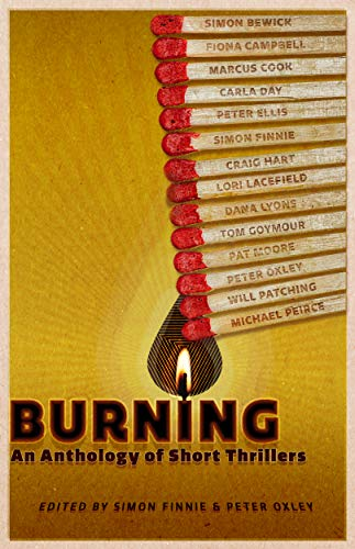 Book cover image for Burning: An Anthology of Short Thrillers