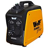 Wolf Leisure Power Genie WPG950 800 Watt, 2.6HP Silent Portable 4-Stroke Petrol Inverter Digital Generator - Ideal for Camping Caravan & Back-Up Power - Low Oil Level Sensor - Thermal Overload Protection - Economy Switch Fuel Saving