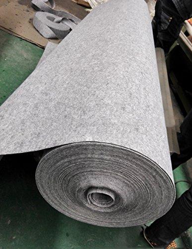 WENZHE ditan alfombra celebración Mostrar la hora desgaste alfombra uso engrosamiento largo plazo, humo gris tela de forro de fondo, T establece la alfombra etapa de 3mm de espesor exposición felpudo ( Tamaño : 1.0*10m )