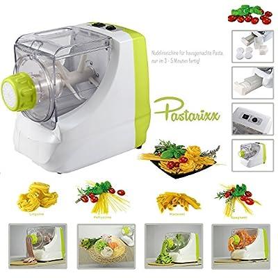 Tolles Geschenk Pastarixx Kchengert Elektrische Nudelmaschine Pasta Maschine Pasta Maker Nudelvollautomat Kchenmaschine Zum Nudeln Nudelteig Einfach Selber Machen Nudelautomat