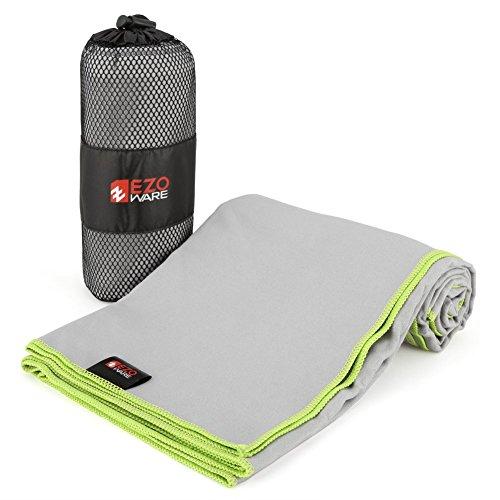 ezowarer-serviette-microfibre-sechage-rapide-serviette-de-sport-plage-entrainement-gris-vert-taille-