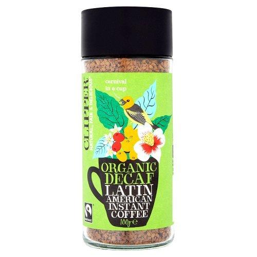 Clipper Latin American Decaf Organic Instant Coffee, 100g 51yq 2Ba96IeL
