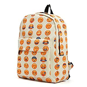 OUTERDO Funny Smiley Zaino Unisex Zaino Viaggio Borsa Backpack /Scuola Zaino/ Bambini Zaino/ School Bag-Innovativo Modello di Progettazione - Perfetto per Sport, Pic-nic, Eventi All'aperto