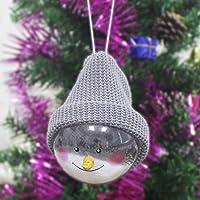 1 UNIDS Bolas Navideñas Adornos de Navidad Decoraciones para Árboles de Navidad Ornamento Colgante Izquierdo y