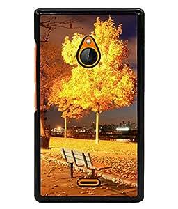 PrintVisa Designer Back Case Cover for Nokia XL (The Scenic Design Of The City Park)