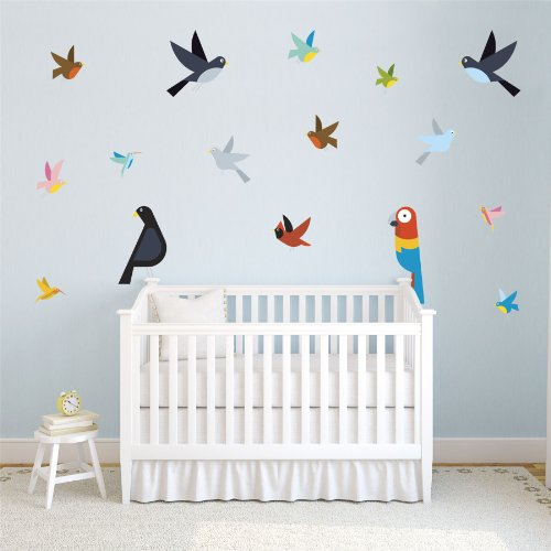 - 51yq1LyTMpL - William Joseph Kids Bedroom Wall Sticker Set 1  - 51yq1LyTMpL - Deal Bags