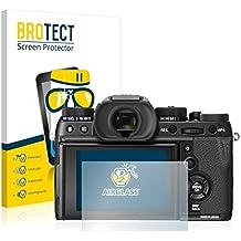 BROTECT AirGlass Protection Verre Flexible pour FujiFilm X-T2 Film Vitre Protection Ecran Transparence - Extra Résistant, Ultra-Léger, Clair