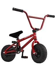 AnaellePandamoto Mini Vélo BMX Freestyle avec 3 Pièces Manivelle de 10 Pouce, Selle avec Hauteur Réglable pour Adulte, Taille: 79*73*69cm, Poids: 11kg