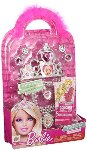 (Mattel Barbie BBDA8 - Juwelen-Set für kleine Mädchen)