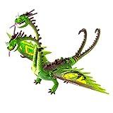 Dragons: How to Train Your Dragon 2 - Zippleback Power Dragon with Special Racing Stripes (Wacky Flex Necks)