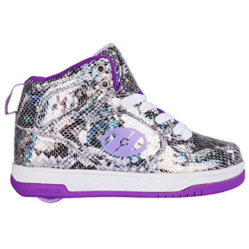 HEELYS Flash 2.0 Snake Purple Metalic 770625 Schlangenlederoptik/Violett/Metallic