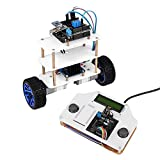 SainSmart InstaBots SRAT, 2-Wheel Self-Balancing Upright Rover Car Robot Kit V2,...