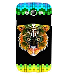 ColourCraft Angry Cat Design Back Case Cover for SAMSUNG GALAXY GRAND Z I9082Z