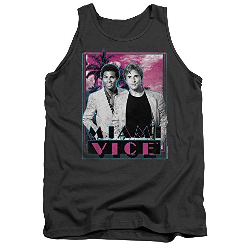 Miami Vice Gotchya Mens Tan Vest Top