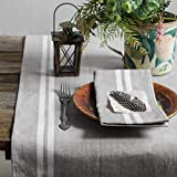Leinen Tischläufer - Läufer - Tischband - Tischtuch - 50 x 200 cm - Farbe Grau/ Varvara Home 1711