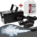 Monzana® Nebelmaschine mit 5L Nebelfluid Smoke Fog Effekt Heimnebelmaschine ✔400W ✔mit Fernbedienung ✔300ml Tank