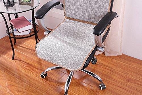T&S Bar di ghiaccio seta capo sedie pad sedie del calcolatore con cuscini schienale e (Seta Capo)