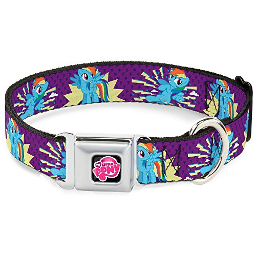 buckle-down-dc-wmlp005-ws-13-18-mlpd-my-little-pony-logo-black-pink-dog-collar-wide-small