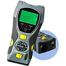 Metro Láser Y Detector De Vigas Y Cables Multifunción 5 En 1, Detecta Tornillos,