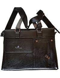 FLYLITE HAND BAG / SIDE BAG IN BLACK COLOUR-6013-2