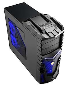 Aerocool X-Warrior PC-Gehäuse (ATX, 2x USB 2.0) schwarz
