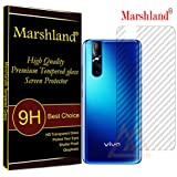 Marshland Back Screen Guard Flexible Anti Scratch Oleo Phobic Coating Anti Glare Screen Protector Compatible with Vivo V15 Pro
