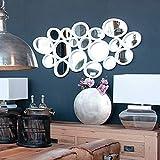 Casa Padrino Designer Wohnzimmer Spiegel Weiß 120 x H. 62 cm - Luxus Möbel
