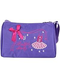 be989696c264 TiaoBug Kids Girls Embroidered Shoulder Bag Dance Ballet Swim Tote Bag