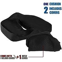 Jorlyen BEST MEMORIA schiuma cuscino del sedile per qualsiasi sedile