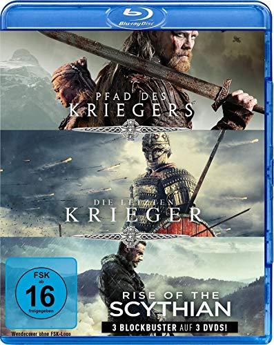 Krieger-Box: Pfad des Kriegers, Die letzten Krieger & Rise of the Scythian (3 Blu-rays)