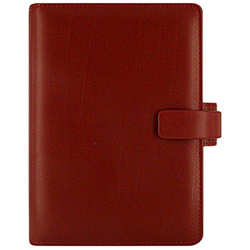 Filofax Classic Persönlicher Organiser für Blätter 95x171mm rot (Filofax Metropol Personal)