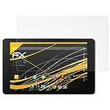 atFolix Schutzfolie für Medion LIFETAB P10606 (MD60526) Displayschutzfolie - 2 x FX-Antireflex blendfreie Folie