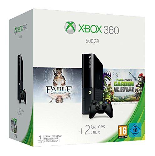Xbox 360 - Consola 500 GB + Plants vs. Zombies + Fable