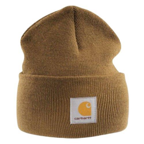 Carhartt Acrylic Watch Cap - Braun Strickmütze Hüte Beanie Mütze Kappe Männer CHA18BRN-Universal -