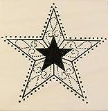 Stempel Stern, Karten individuell gestalten, Embossing, Weihnachtskarten basteln