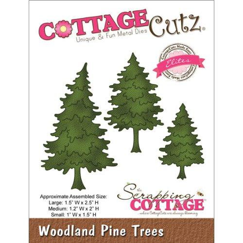 Cottage Cutz 2,5Woodland Kiefer Bäume Eliten sterben Schnitte - Cottage Cutz