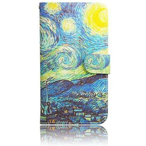 Sunroyal Chic Klapptasche Wallet Case Kunstlederhülle für Samsung Galaxy Grand Prime G530/G530H/G530FZ/G5308W/G5309W/G5306W SM-G530FZ - Cover Flip Tasche Schwarz Design Luxus Magnetic Flip Case mit Ka Pattern 01
