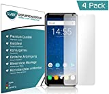 Slabo 4 x Bildschirmschutzfolie für OUKITEL K5000 Bildschirmfolie Schutzfolie Folie Zubehör Crystal Clear KLAR