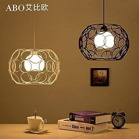 Testa singola piccoli lampadari moderni e minimalisti
