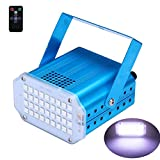 Party Stage Lights Strobe Flash Disco Light with Remote Sound Activated and Speed
