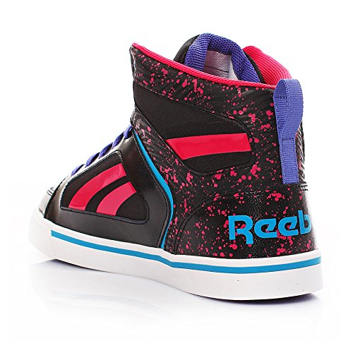 Reebok Ksee You Mid, Baskets mode fille Noir