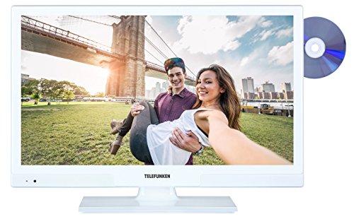 fernseher triple tuner dvd player Telefunken XH20A101D-W 51 cm (20 Zoll) Fernseher (HD Ready, Triple Tuner, DVD-Player) weiß