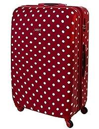 19524440a Karry Maleta viaje rígida Rojo Puntos 813/818. B00MVPJPQC