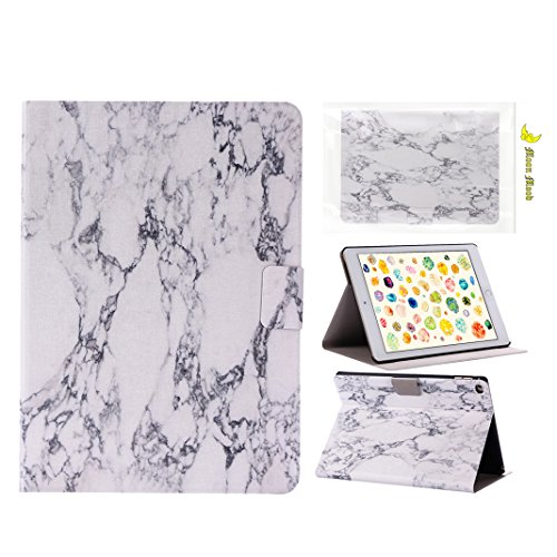 Preisvergleich Produktbild Moon mood® PU Leder Schutzhülle für Apple iPad Air 2/iPad 6 (9.7 Zoll) Hart PC Innern Hülle mit Bunte Malerei 2 Kartenfächer Standfunktion Tab Tasche