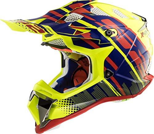 LS2 470-1135 Full Face Helmet (Yellow, L)
